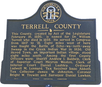 Terrell County Tax Assessor's Office